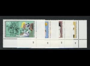 1274-1277 Jugend Handwerksberufe 1986, FN2 Satz **