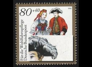 1758 Halle/Saale mit PLF Linie rechts am Hut des Mannes, Feld 10, **