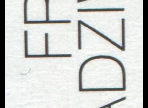 1774 Radziwill, PLF: Bumerang unter dem F von FRANZ, Feld 8 **