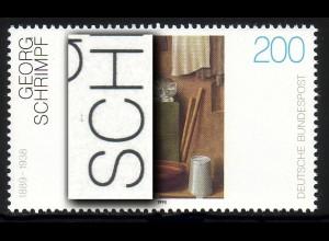 1775 Schrimpf mit PLF schwarzer Strich über dem C in SCHRIMPF, Feld 10 **
