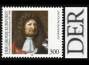 1781 Großer Kurfürst mit PLF Punkt im E von DER, Feld 4 **