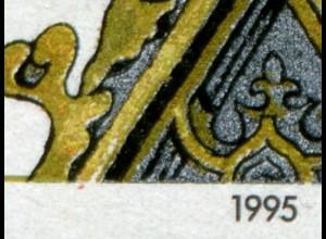 1786 Regensburg mit PLF roter Fleck links von der 1995, Feld 10, postfrisch **