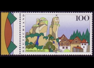 1807 Fränkische Schweiz: Passerverschiebung olivgrün / hellgrün **