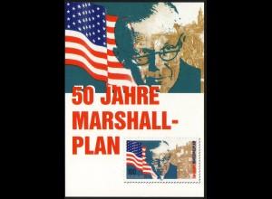 1926 Marshallplan 1997 - Maximumkarte, ungebraucht