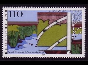 1945 Moorlandschaft - PLF rotbrauner Fleck am 2. Ast, Feld 2, **