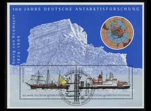 Block 57 Antarktisforschung 2001, ESSt Berlin 8.11.2001