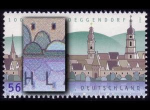 2244 Deggendorf mit PLF Fleck im Baum über L von DEUTSCHLAND, Feld 2, **