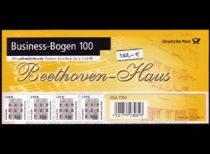 BB1b 2348 SWK 1,44 Euro selbstklebend kompletter Business-Bogen zu 100 Marken **