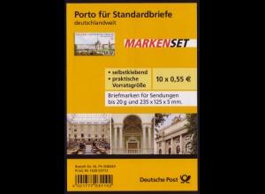 FB 4a Uni Leipzig, Folienblatt 10x2747 Nr. 1610 03772, **