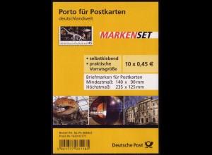 FB 5a Museum Berlin, Folienblatt 10x2780 Nr. 1620 03771, **