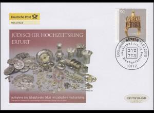 2784 Hochzeitsring, Schmuck-FDC Deutschland exklusiv