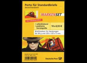 FB 10 Udo Lindenberg - Pankow, Folienblatt 10x2808, **