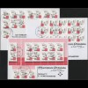2964 Drei Cent Rollenmarken / Bogenmarken / Selbstklebende - 3 FDC