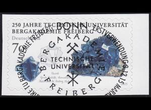 3198 Universität Bergakademie Freiberg, selbstklebend aus FB 52, EV-O Bonn
