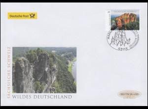 3251 Sächsische Schweiz, selbstklebend, Schmuck-FDC Deutschland exklusiv