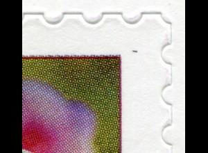 FB 87 Blume Phlox, Folienblatt mit MDF Fleck in Bildecke rechts oben, Feld 7, **