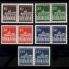 506-510 Brandenburger Tor, waagerechte Paare, Satz **