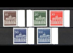 506-510 Brandenburger Tor, Seitenrand-Satz **