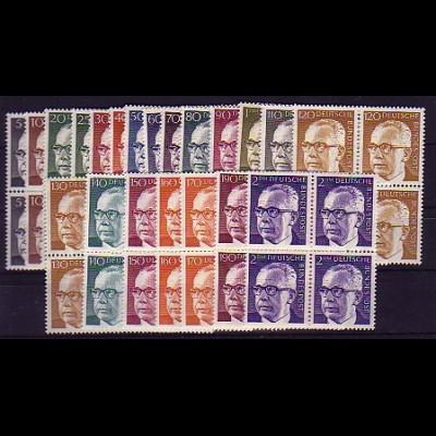 635 ff Heinemann 21 Werte, Viererblöcke, Satz **