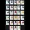 1339 ff SWK 28 W. aus 100er-Bogen, Satz Ecke unten links **