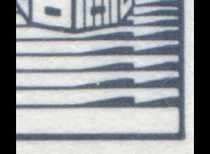 HBl. 27IIv aus MH 22II BuS LETTERSET, Gummi weiß, PLF XXI [913II/XVII] **