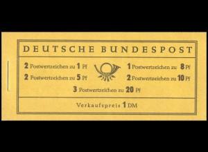 4Xu MH Heuss und Ziffer 1958 - RLV II, **