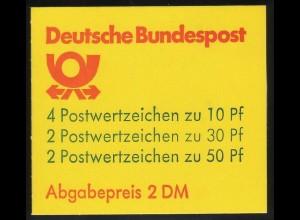 22IIadK2 MH BuS 1990 Letterset - 49,5 mm, ** postfrisch