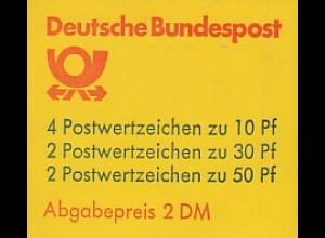 22Is MH BuS 1980 Buchdruck - gestempelt