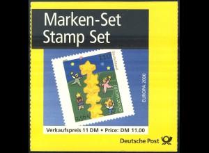 41I MH Europa (Type I) - 1. Auflage, Ersttagssonderstempel Berlin 12.5.2000