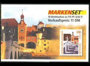42 MH Regensburg, mit Zählbalken, postfrisch