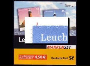 58a MH Leuchttürme - PLF Strich links oben, Feld 6 **