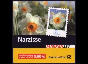 61 MH Narzisse, Versandstellenstempel Weiden 02.01.2006