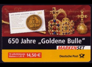 62IaA MH Goldene Bulle, gestempelt mit ESSt Berlin 02.01.2006