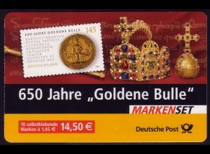 62IaA MH Goldene Bulle, Versandstellenstempel Weiden 02.01.2006