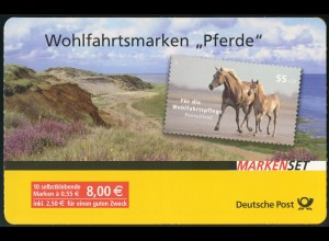 69 MH Pferde 2007, Erstverwendungsstempel Bonn 27.12.2007,