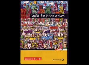 73a MH Post/Europa 2008, Erstverwendungsstempel Bonn 8.5.2008