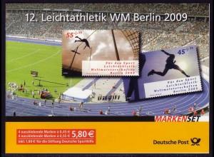 80 MH Leichtathletik-Weltmeisterschaft Berlin 2009 - postfrisch **