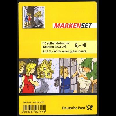 96 MH Grimms Märchen: Hänsel und Gretel, Erstverwendungsstempel Bonn