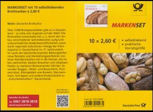 110 MH Deutsche Brotkultur, postfrisch **