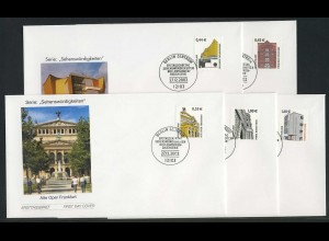 2298-2302 SWK 5 Werte 0,44-1,60 Euro mit Nummer FDC Berlin