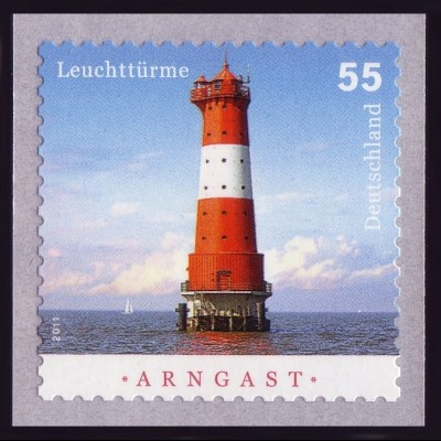 2935 Leuchtturm Arngast aus 2000er-Rolle mit GERADER Nummer **