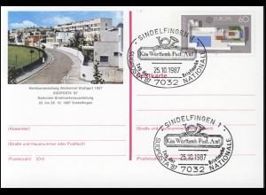 PSo 14 SÜDPOSTA Sindelfingen 1987, SSt Tag der Briefmarke