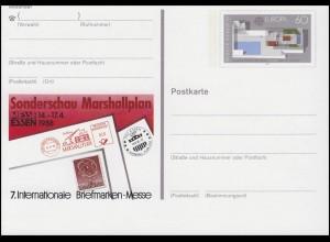 PSo 16 Briefmarken-Messe ESSEN 1988, postfrisch wie verausgabt, **