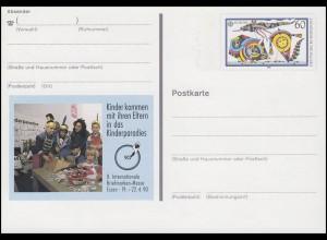 PSo 20 Briefmarken-Messe ESSEN - Kinderparadies 1990, **