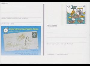 PSo 27 Briefmarken-Messe ESSEN 1992, ** postfrisch wie verausgabt