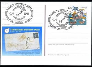 PSo 27 ESSEN 1992, ESSt Messe-Symbol 07.05.1992
