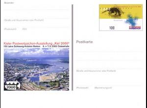 PSo 67 KIEL 2000 & Marke Expo Hannover, postfrisch wie verausgabt **