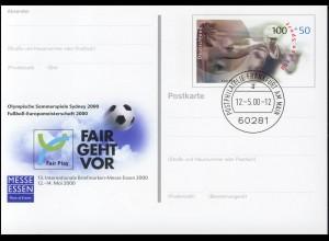 PSo 68 ESSEN - Fair Play Olympia / Fußball-EM, VS-O Frankfurt 12.05.2000
