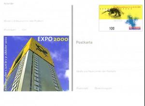 PSo 69 Weltausstellung EXPO Hannover/ POSTBOX 2000, postfrisch wie verausgabt **