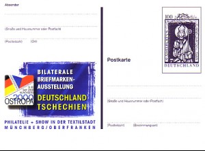 PSo 70 OSTROPA Tschechien Münchberg 2000, postfrisch wie verausgabt **